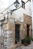 Старый коттедж в eivissa стоковое изображение rf