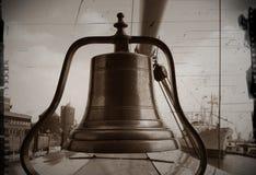 Старый колокол ` s корабля Стоковое Фото