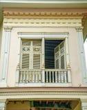 Старый колониальный балкон Стоковое фото RF