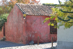 Старый колониальный дом Стоковая Фотография
