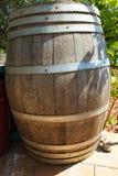Старый крупный план бочонка вина Стоковая Фотография RF