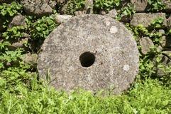 Старый крупный план жернова Стоковое Изображение RF