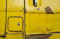 Старый крупный план фургона автомобиля стоковое изображение rf