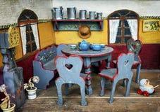 Старый кукольный домик стоковые изображения