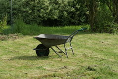 Старый курган колеса Стоковые Изображения