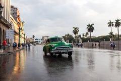 Старый классический американский автомобиль Стоковые Изображения