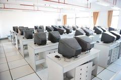 Старый класс компьютера Стоковое Фото