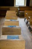 Комната старой школы Стоковые Изображения