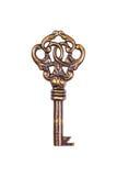 Старый ключ Стоковое Изображение RF