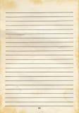 старый лист Стоковая Фотография