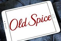 Старый логотип бренда специи стоковые изображения