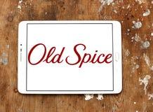 Старый логотип бренда специи стоковые фотографии rf