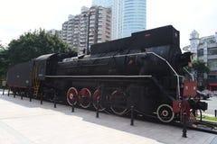 Старый локомотив пара, ностальгия, полная времени стоковые фото
