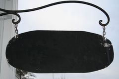 старый магазин знака Стоковое фото RF