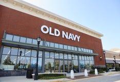 Старый магазин одежды военно-морского флота Стоковое Фото