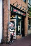 Старый магазин сигары Аннаполиса Стоковое фото RF