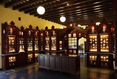 Старый магазин фармации Стоковая Фотография