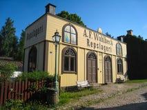 Старый магазин Ropemaking. Linkoping. Швеция Стоковые Изображения RF