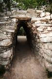 Старый майяский вход Стоковое Изображение RF
