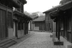 старый малый городок улицы Стоковое фото RF