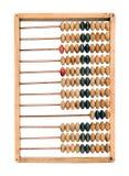 Старый математически абакус калькулятора Стоковые Фото