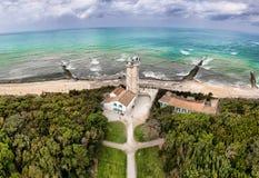 Старый маяк в Ilse Re Ile de Re в Франции стоковое изображение