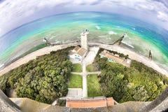 Старый маяк в Ilse Re Ile de Re в Франции стоковые фото