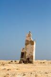 Старый маяк, Кабо-Верде Стоковые Фото