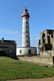 Старый маяк Стоковое Изображение RF