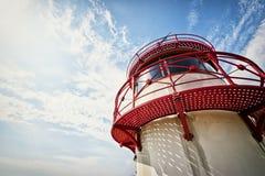 Старый маяк Стоковое Изображение
