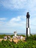 Старый маяк Cape Henry Стоковые Изображения RF