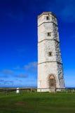 Старый маяк Flamborough Стоковое Изображение