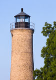 Старый маяк Kenosha Стоковое Изображение RF