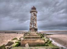 Старый маяк Talacre Стоковые Фото