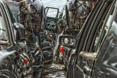 Старый металл на Scrapyard стоковая фотография rf