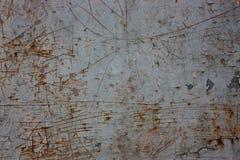 Старый металл ржавый Стоковое Изображение RF