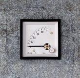 Старый метр на стене Стоковые Фото