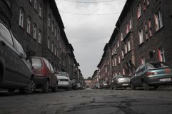 Старый минируя район Стоковая Фотография RF