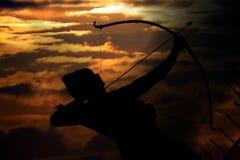 Старый мифологический ратник Стоковое Изображение RF