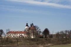 Старый монастырь в ³ w Hebdà Стоковые Изображения RF