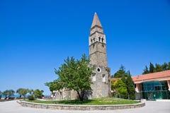 Старый монастырь Сан Barnardin, Portoroz, Словения Стоковые Фото