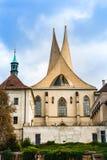 Старый монастырь Emmaus в Праге, чехии стоковое фото