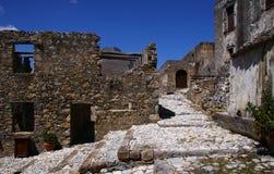 Старый монастырь Preveli стоковые изображения rf