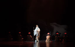 """Старый монах-показатель южных мечт opera""""four Сук-Цзянси  linchuan†Стоковое Изображение"""