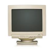 Старый монитор компьютера Стоковые Фотографии RF