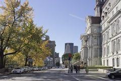 Старый Монреаль, Квебек, Канада Стоковая Фотография