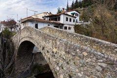 Старый мост в Греции стоковое изображение rf