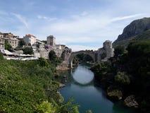 Старый мост мой взгляд стоковое изображение rf