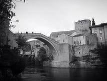 Старый мост Мостар стоковая фотография