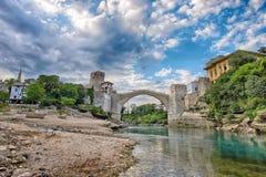 Старый мост Мостар Стоковое Изображение
